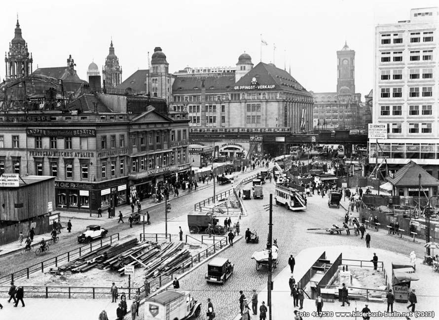 Berlin Alexanderplatz and surroundings