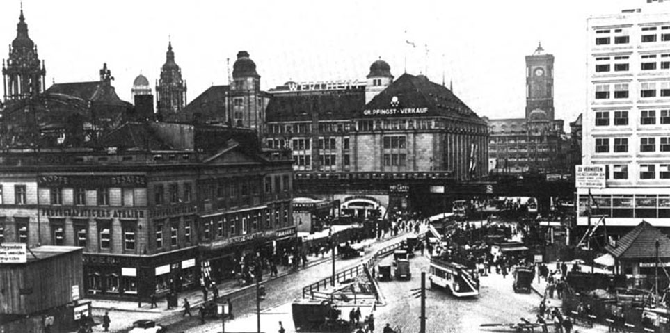 Berlin Alexanderplatz 1929
