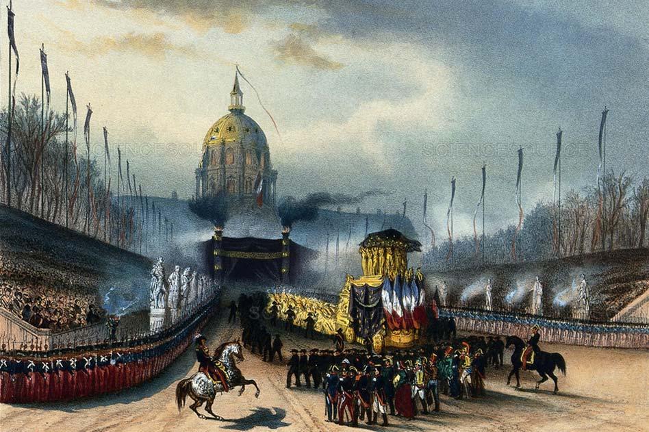 Napoleon funeral procession