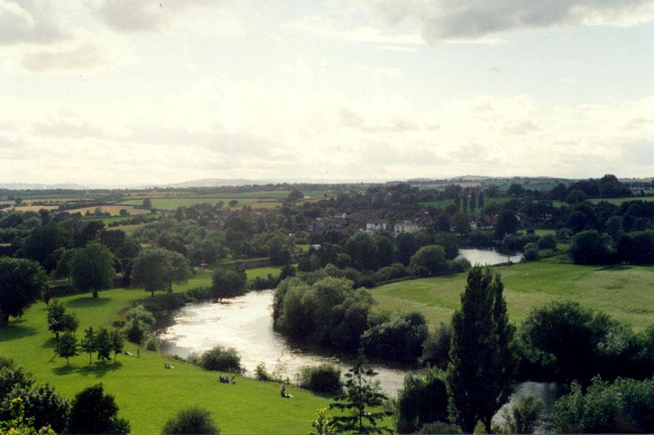 Tintern Abbey and Wye River