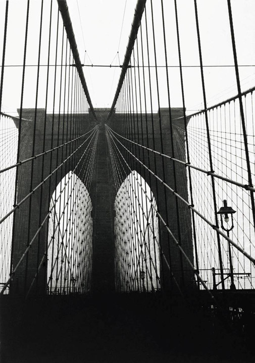 Walker Evans, Brooklyn Bridge