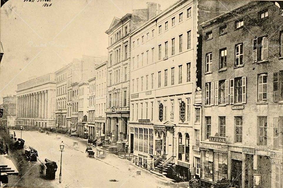 Wall St., 1864